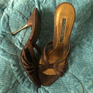 Laundry Shelli Segal Brown Sandals 8
